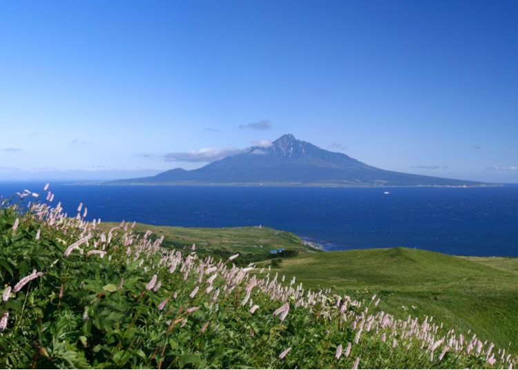 禮文島·北方邊境的絕景7連發!兜風的最佳路線就在這!