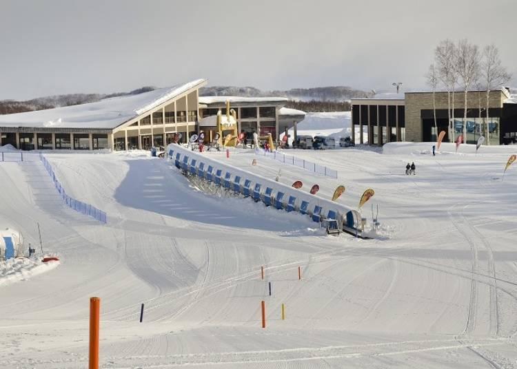 3. Niseko HANAZONO Resort Snow Tubing: Enjoyed by All Ages!