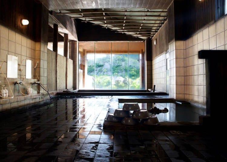 8. 니세코 고시키 온천 료칸 : 니세코의 산들에 둘러싸인 비탕