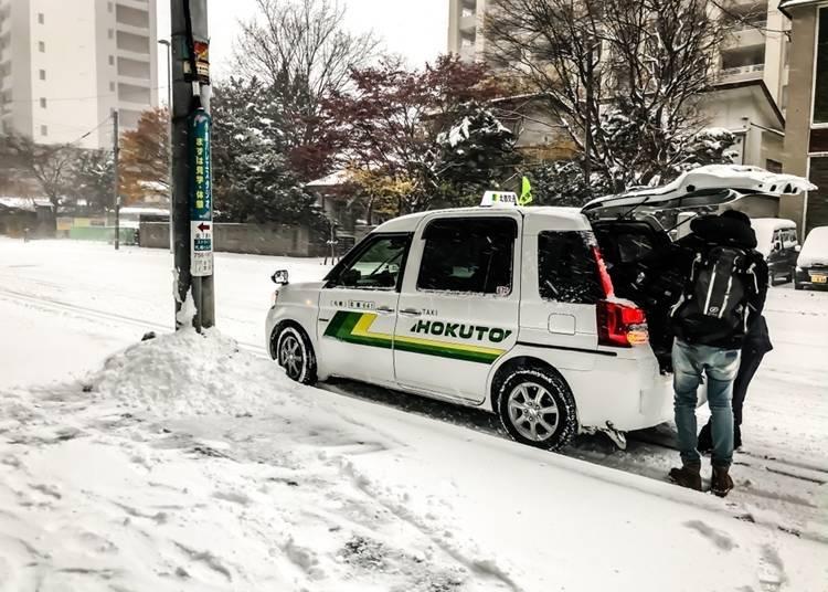 택시 : 프라이빗한 이동을 즐기고 싶은 사람에게 추천