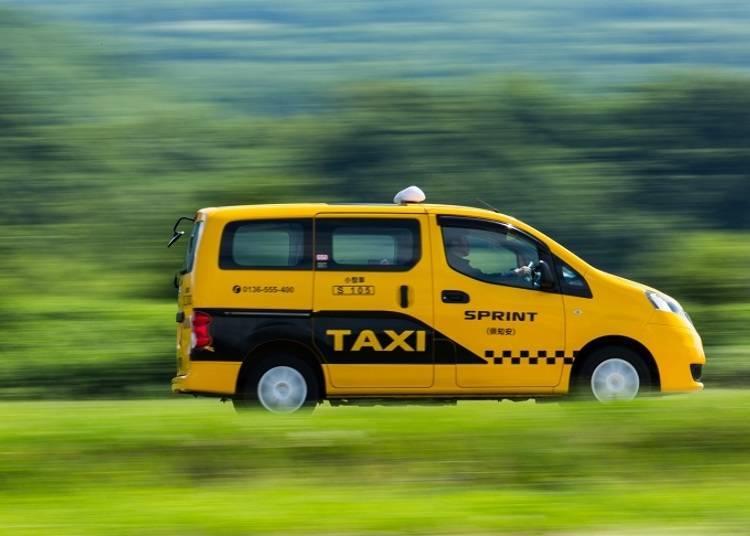 ■눈 걱정 없이 원하는 곳까지 이동 가능한 택시