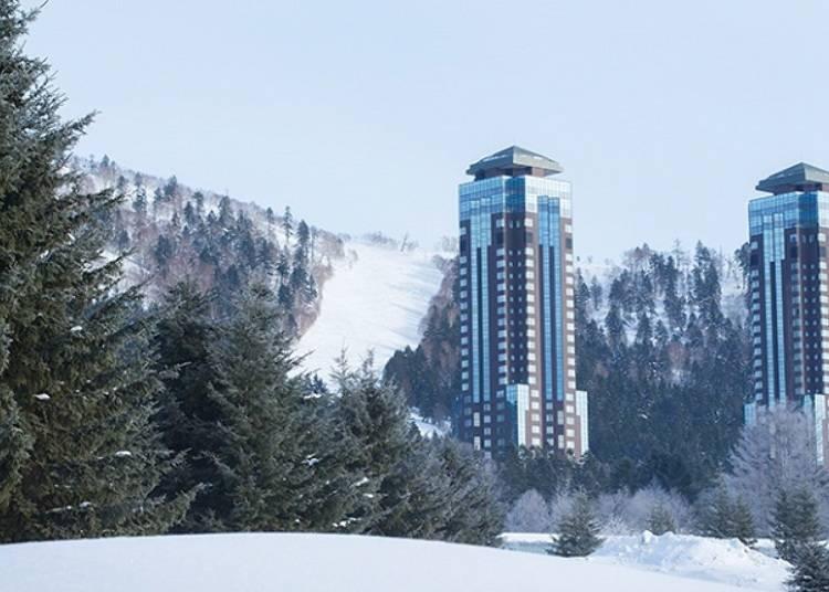 전실 스위트 룸으로 이루어진 호화 호텔 '호시노 리조트 리조나레 토마무'