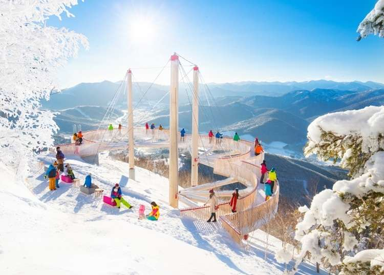 Visiting Muhyo Terrace: Hokkaido's Incredible Frozen Landscapes!