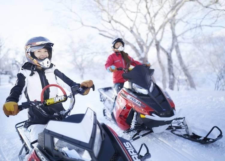 ■雪上摩托车