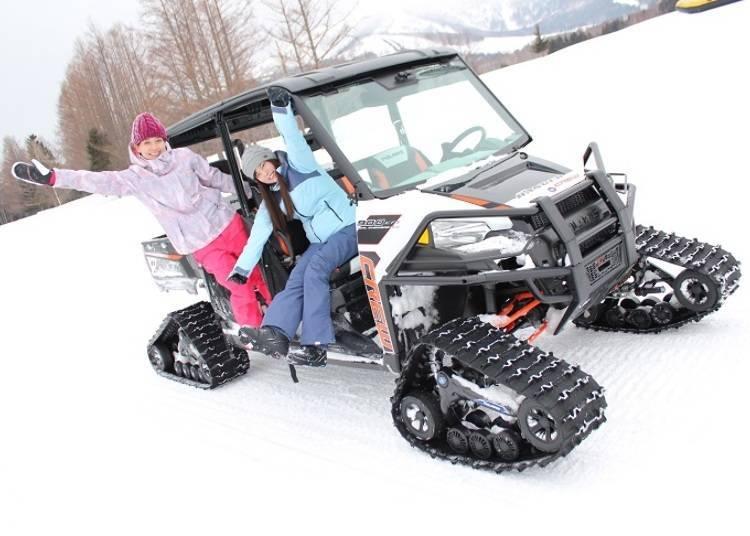 雪上越野車