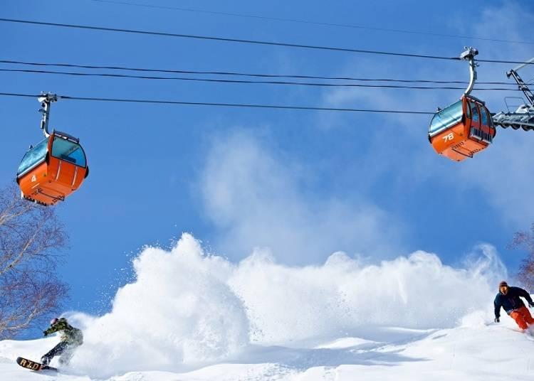 ■札幌国际滑雪场