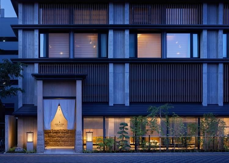 5) ONSEN RYOKAN 유엔 삿포로 : 세련된 일본식 모던한 온천료칸