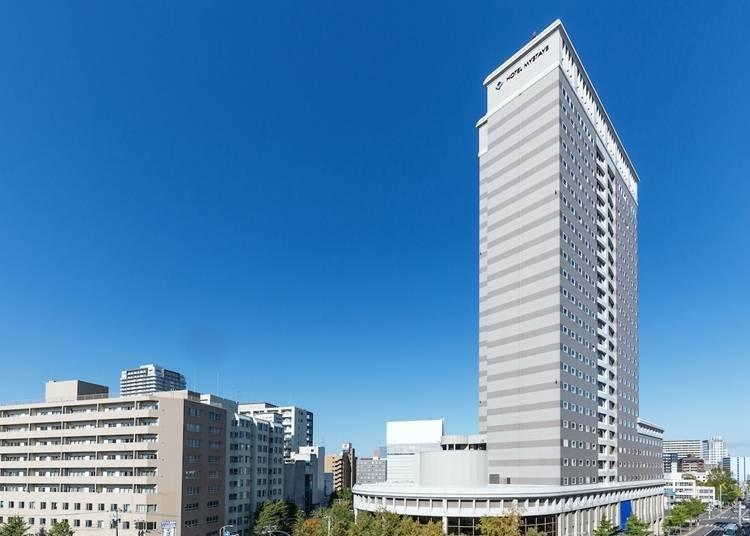 9) 호텔 마이 스테이즈 프리미어 삿포로 파크 : 시가지의 가운데서 풍부한 자연을 느낀다