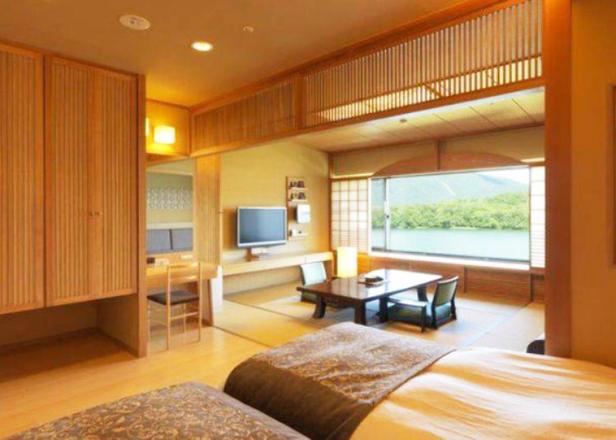 '아칸유쿠노사토 쓰루가'. 아칸 호수의 대자연과 온천, 손님을 위하는 마음에 감동