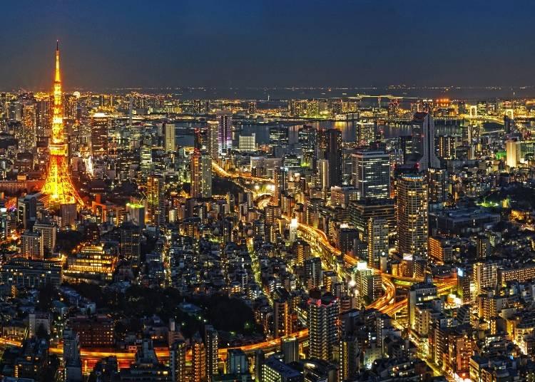 日本の「最新」を感じる大都市東京