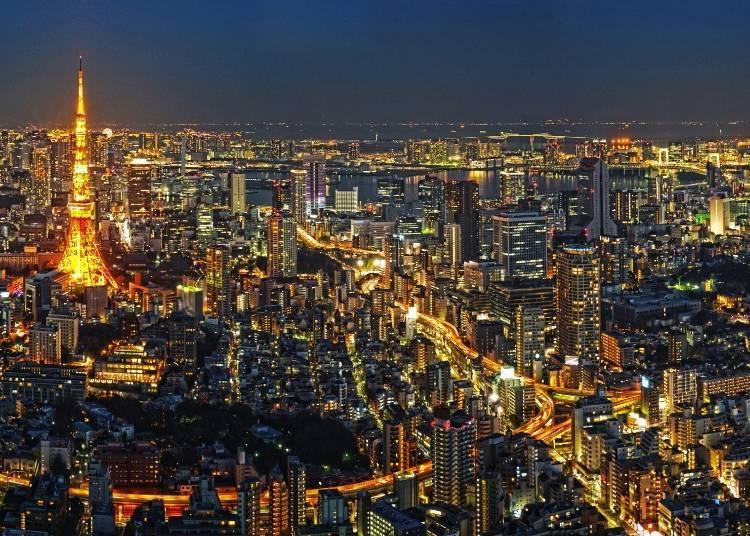 感受日本「最前端」的大城市東京