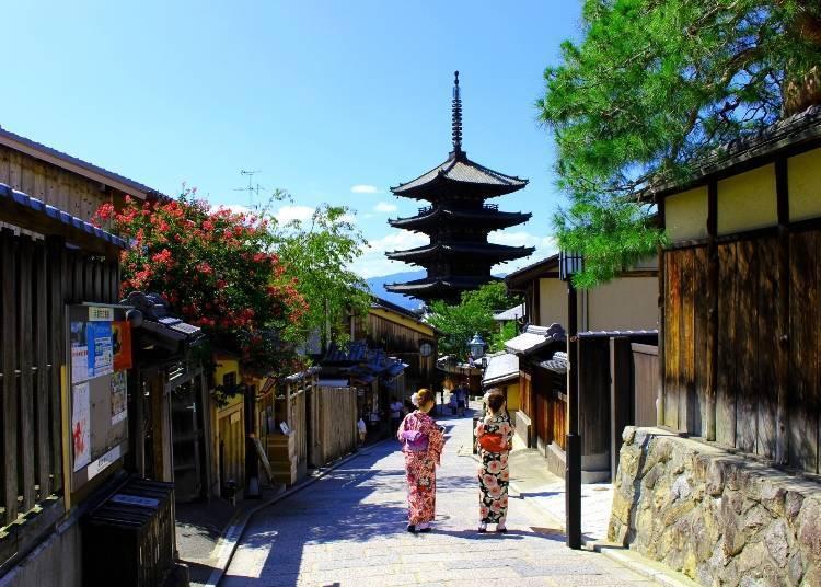 體驗京都、奈良的傳統文化與細細品味古都之美