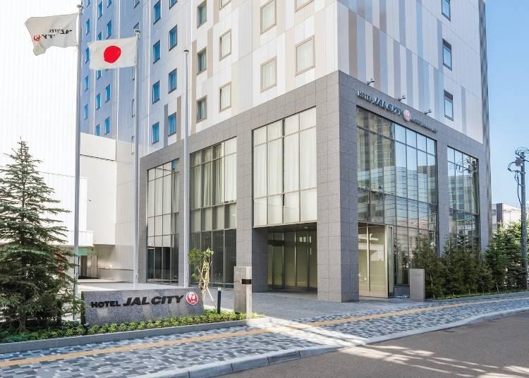 3. Hotel JAL City Sapporo Nakajima Park: A 3-minute walk to the gorgeous Nakajima Park