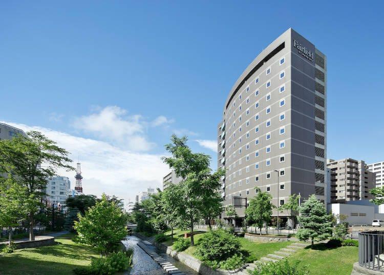 10. Fairfield by Marriott Sapporo: A sophisticated urban hotel