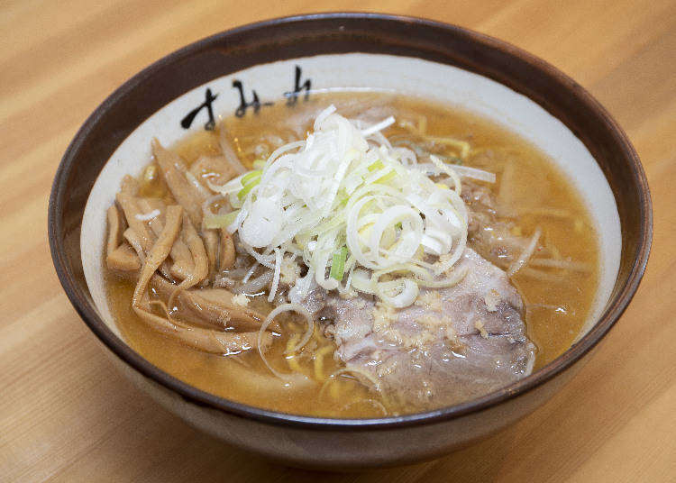 Hokkaido Dining: Enjoying a Bowl of Traditional Sapporo Ramen at Sumire Nakanoshima Honten