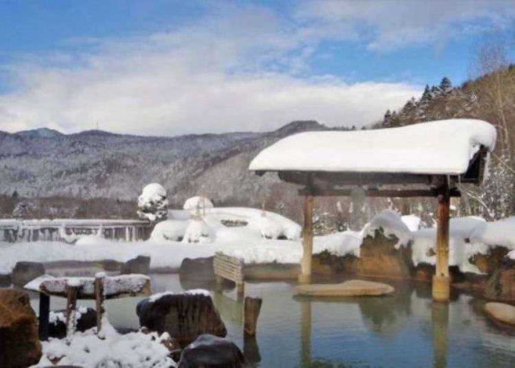 從札幌市區出發的日歸型的美肌之湯「豐平峽溫泉」!還能品嘗正宗的印度咖哩與成吉思汗烤羊肉!