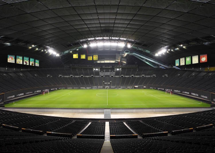 Sapporo Dome: Japan's first completely indoor natural turf stadium