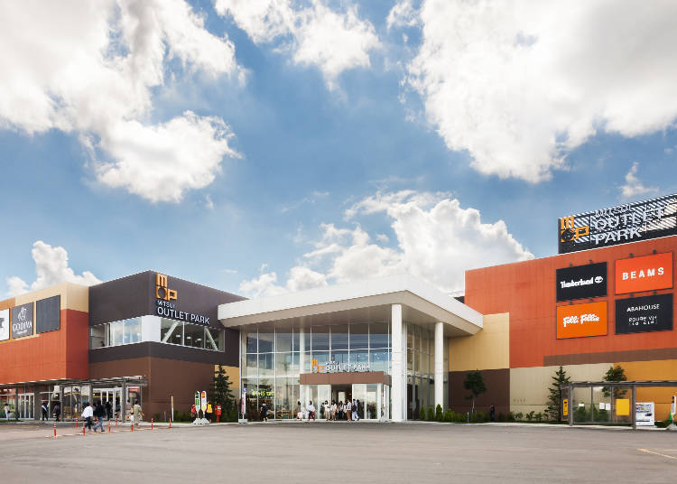 3. Shop at Mitsui Outlet Park Sapporo Kitahiroshima until the game begins