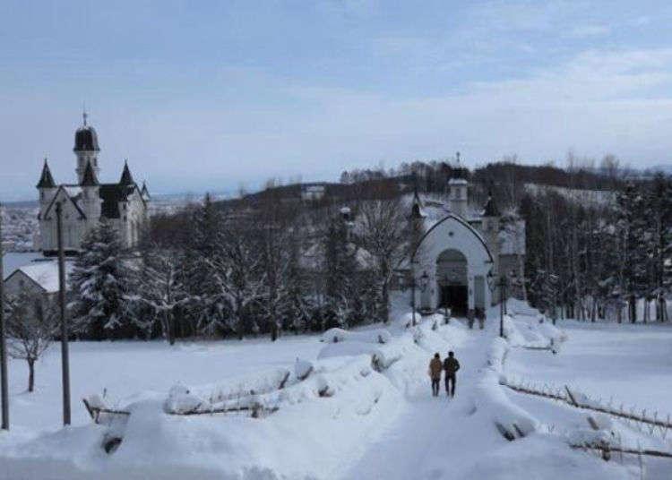 The Cold Won't Bother You in This Real Life Japanese Snow Palace (Asahikawa, Hokkaido)