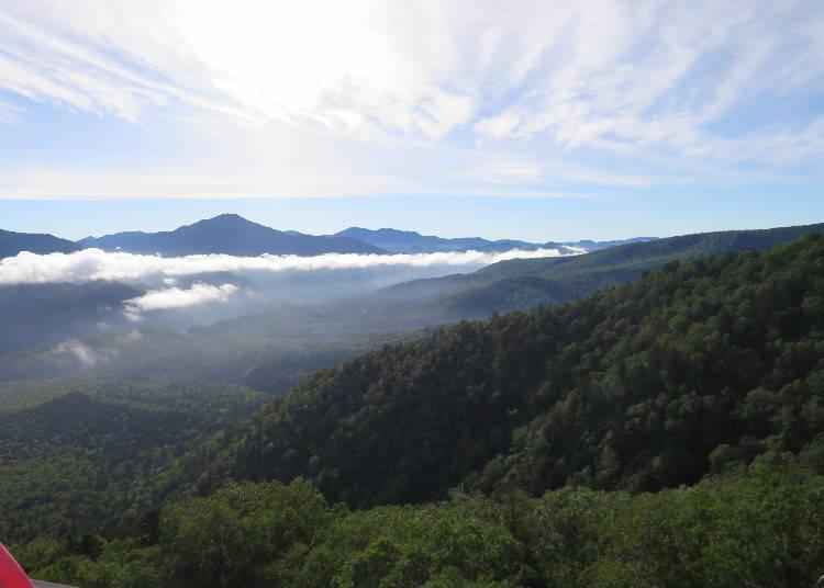 Finding Food: Getting a bite at Mount Kurodake