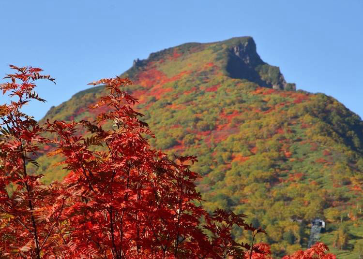 Try reaching Mount Kurodake's summit on foot from the seventh station!