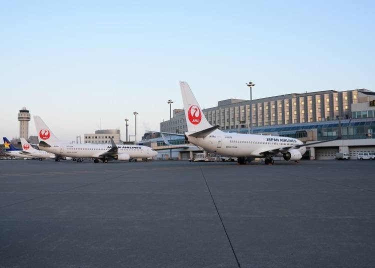 1. Air Terminal Hotel: A relaxing space directly connected to New Chitose Airport