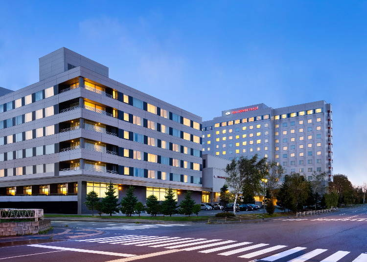 3. ANA Crowne Plaza Hotel Chitose: 20 minutes from the airport on the free shuttle!