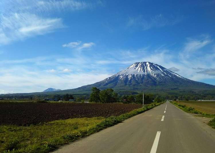 홋카이도에서도 볼 수 있는 후지산과 닮은 산 5곳