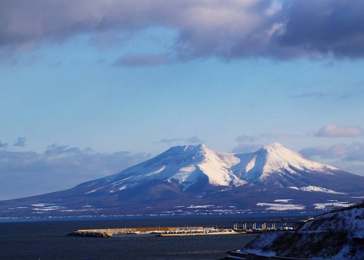 Mt. Fuji transformed into a horse - Mt. Komagatake