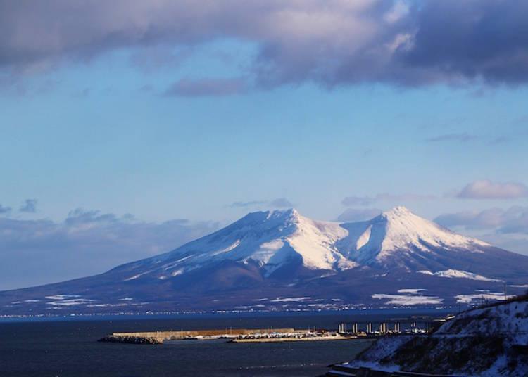 5. Mt. Komagatake: Hokkaido Mount Fuji transformed into a horse