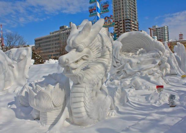 銀世界は極寒!北海道の冬がスゴい