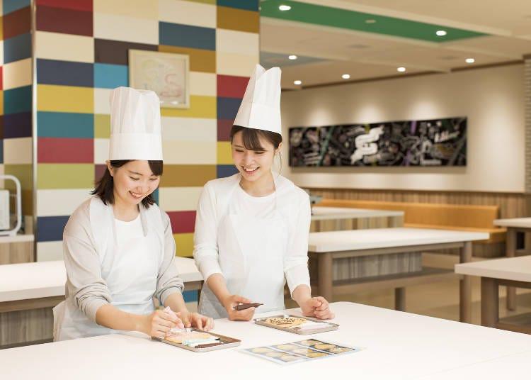 白色戀人公園體驗②在「巧克力幻想館市場」用餐&參加體驗課程