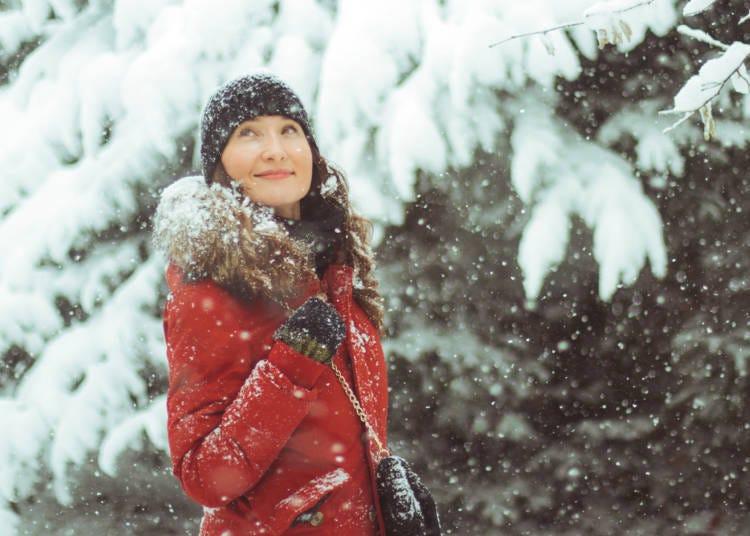 冬遊北海道防寒對策1:建議注重於衣物的材質