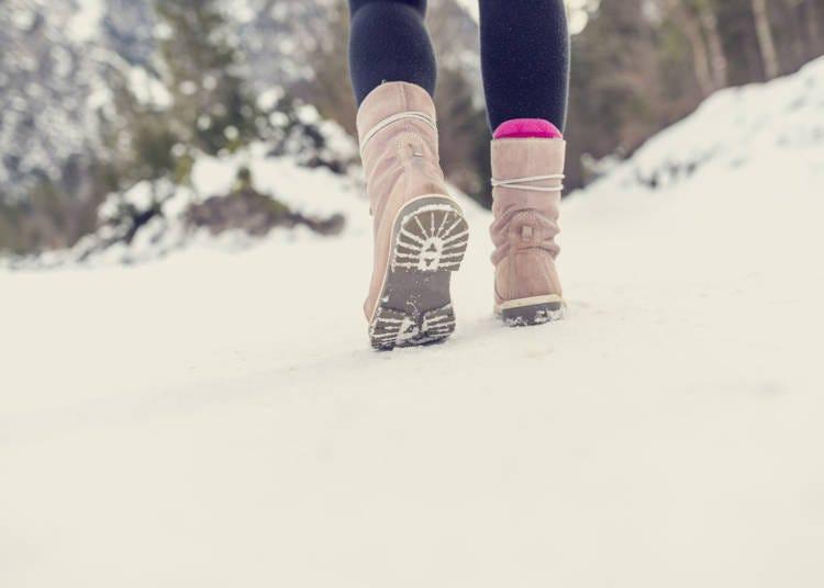 冬遊北海道防寒對策3:這雙鞋子真的是「冬靴」嗎?