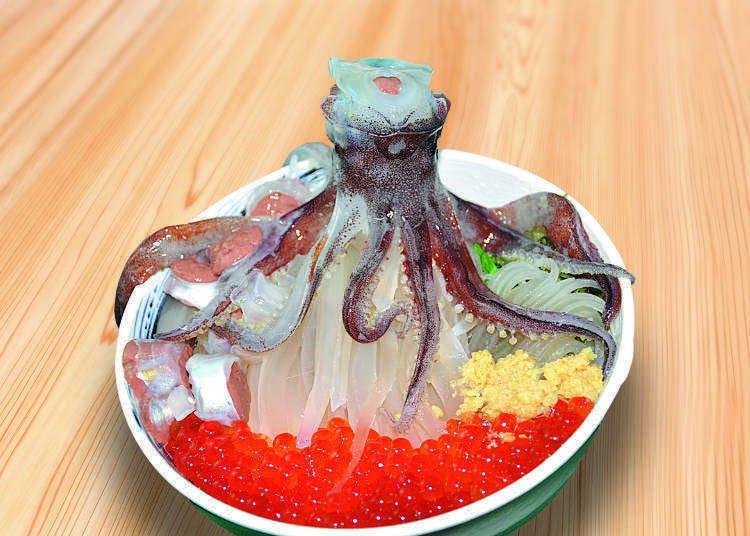 函館一のグルメスポット!「どんぶり横丁市場」の極上海鮮グルメ5選