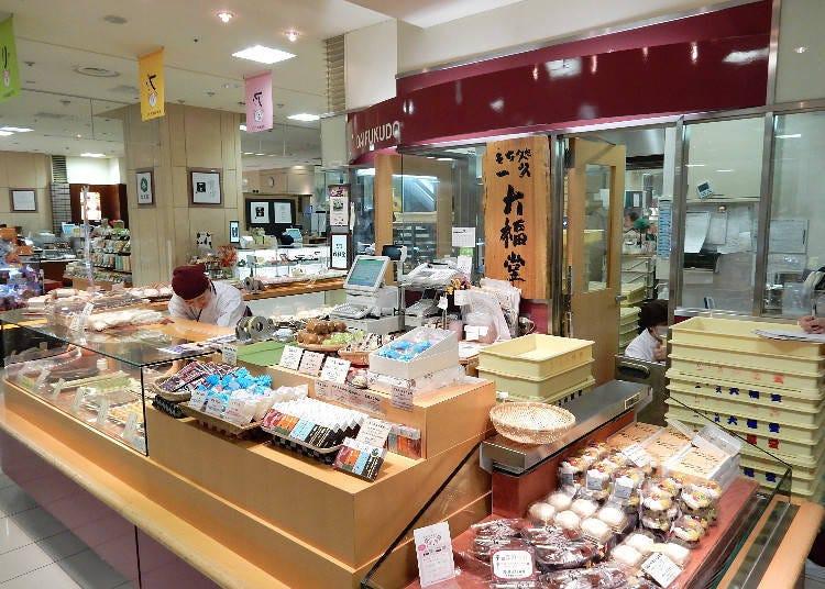 也可欣賞到製作的過程!「一久大福堂」的日式麻糬甜點!