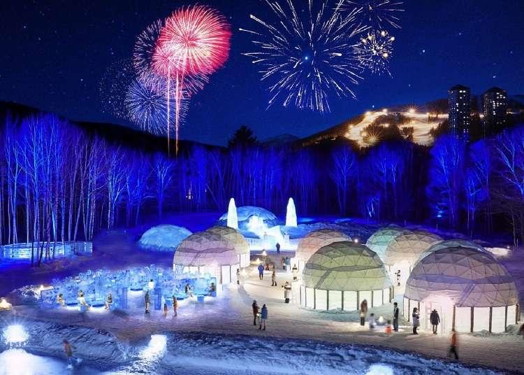 Hokkaido Winter Wonderland!  Hoshino Resort Tomamu's Ice Village