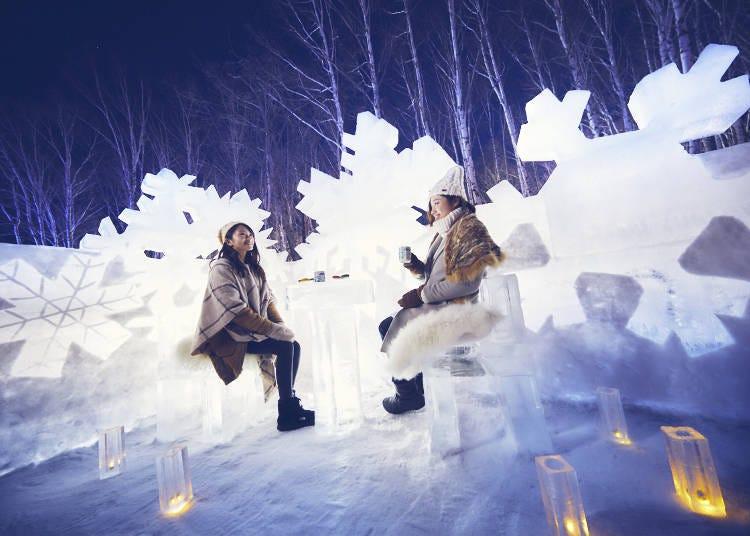 「氷のクリスタルパーク」が新登場!