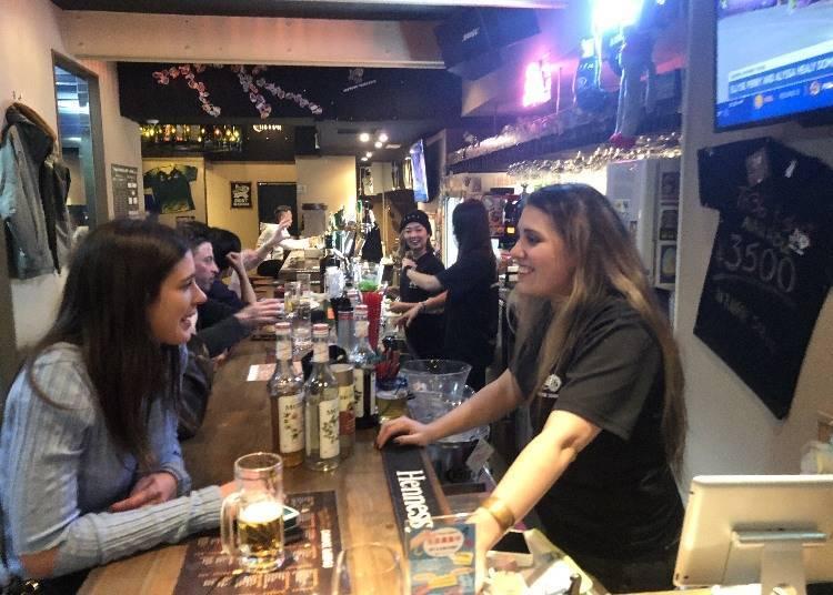 23:00〜 於「TK36 international Bar & Grill」內觀看球賽!