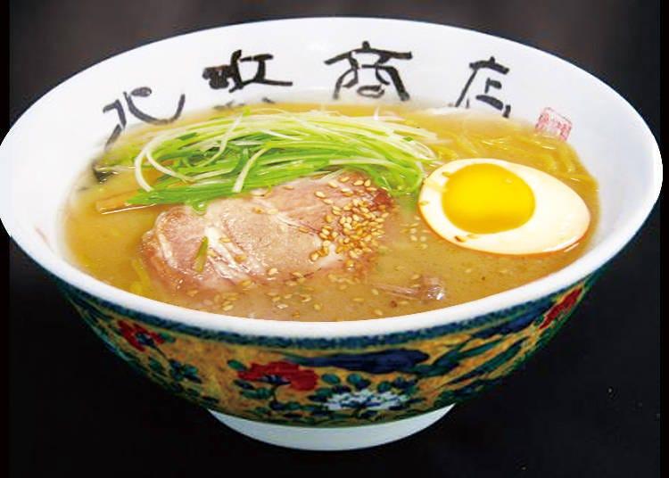 北海道公司所生產製作的正宗風味拉麵是最佳首選的伴手禮無誤
