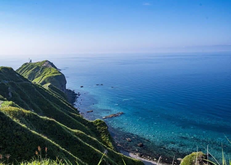 4. Shakotan Blue: Clear Sea (Shakotan Town)