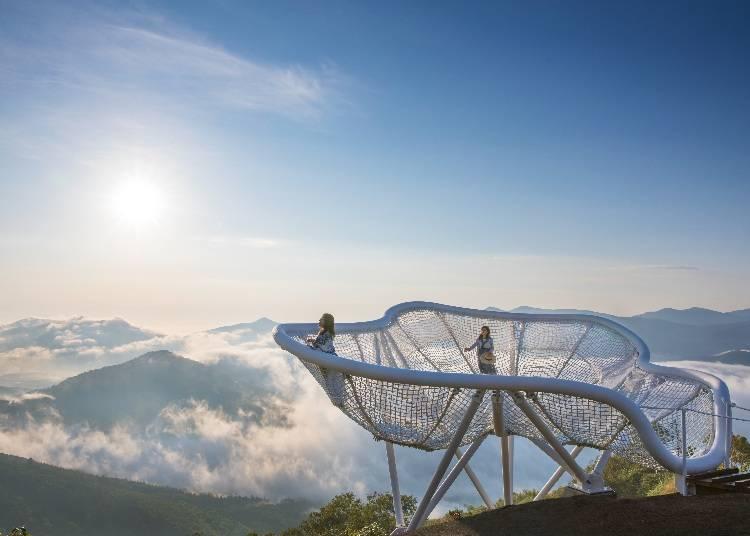 多種方式享受雲海景緻「星野TOMAMU渡假村 雲海Terrace」(占冠村)