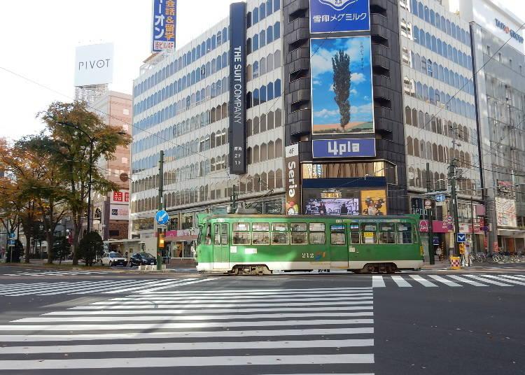 5.市電でのんびり札幌中心部散歩「どサンこパス」「路面電車1日乗車券」