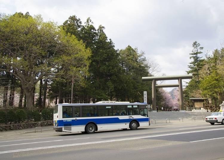 3.삿포로 시내와 근교에 있는 관광 명소를 버스로 둘러보는 '1일 노리호다이킵뿌(1일 무제한 패스)'