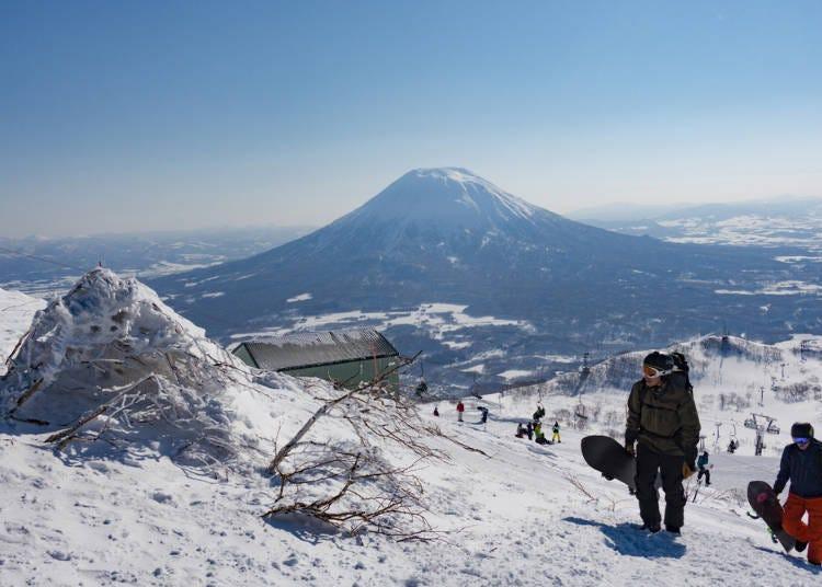 4.在北海道,到5月份為止都還能滑雪!