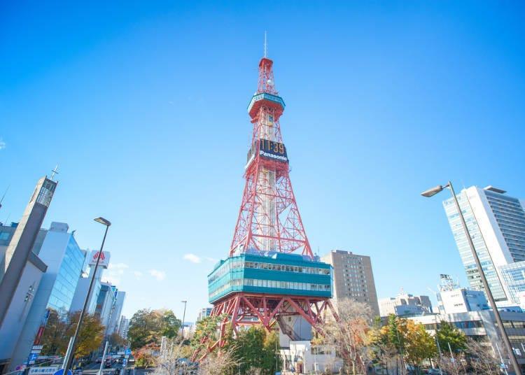 在「札幌電視塔」觀光&購物