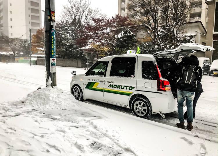 (3)タクシー