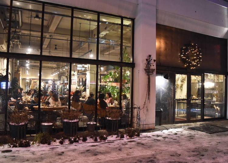 16:30 소세이가와 이스트에 있는 인기 카페 'FAbULOUS(페뷸러스)'에서 티 타임