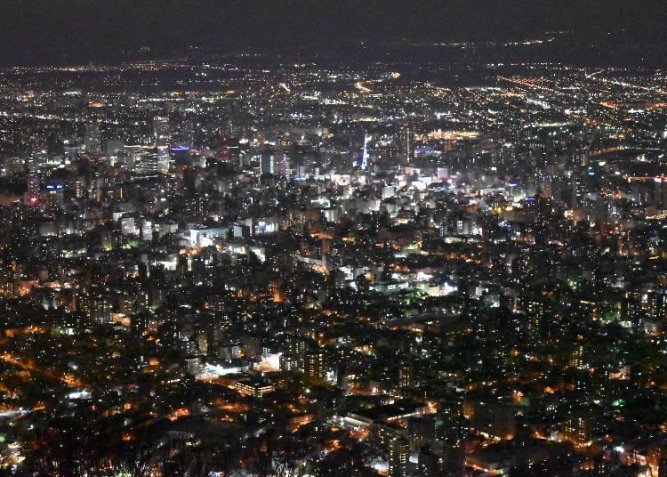 18:30 모이와산에서 감상하는 야경