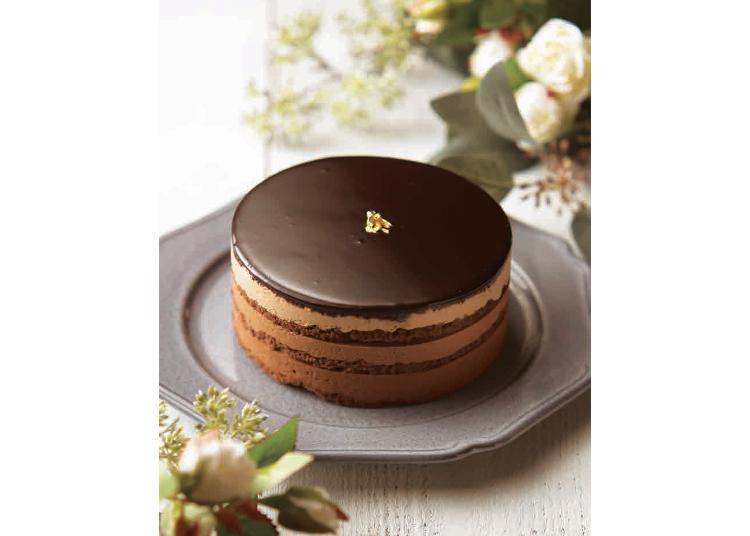4.チョコレート専門店の王道ムースケーキ「アデル」